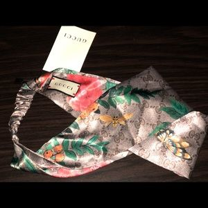Gucci Silk Headband